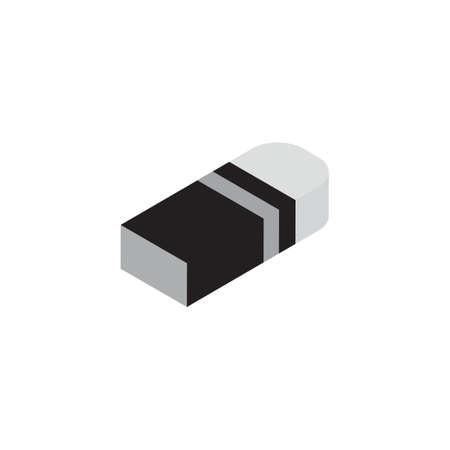three dimensional: Three dimensional eraser