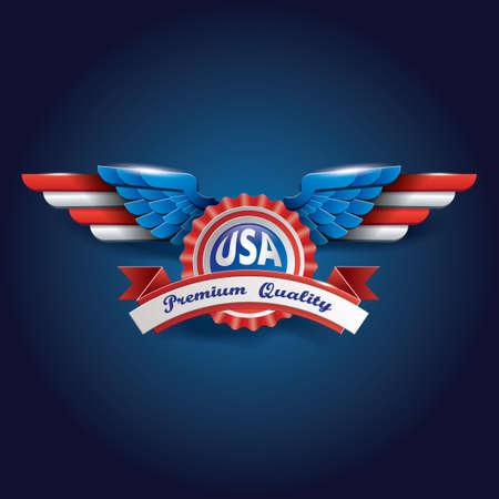 airforce: USA badge