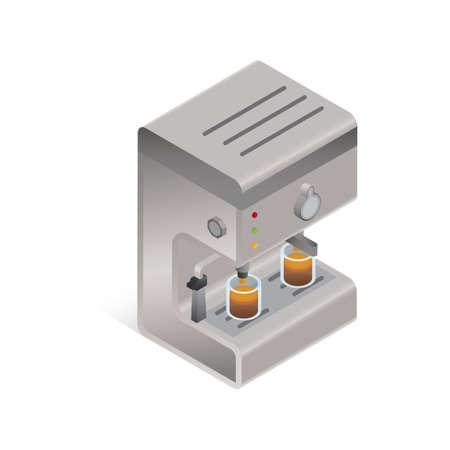 coffee machine: Three dimensional coffee machine