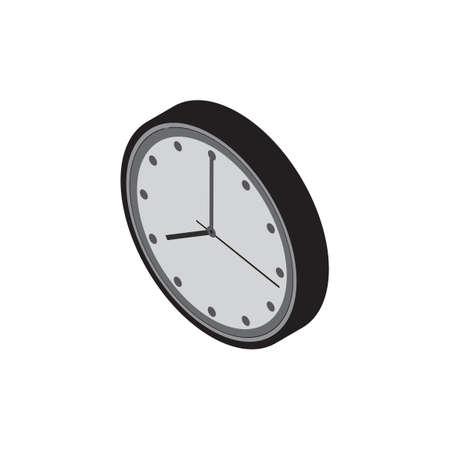 minute hand: Three dimensional clock