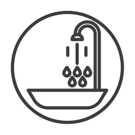 bathtub: Bathtub with shower