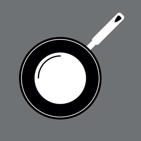 frying pan: Frying pan Illustration