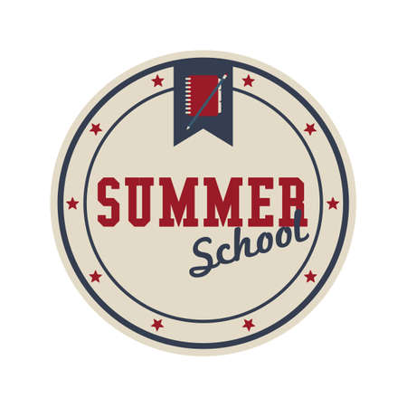 summer school: Summer school label