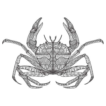 intricate: Intricate crab design