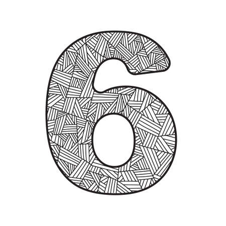 numerical value: Number six