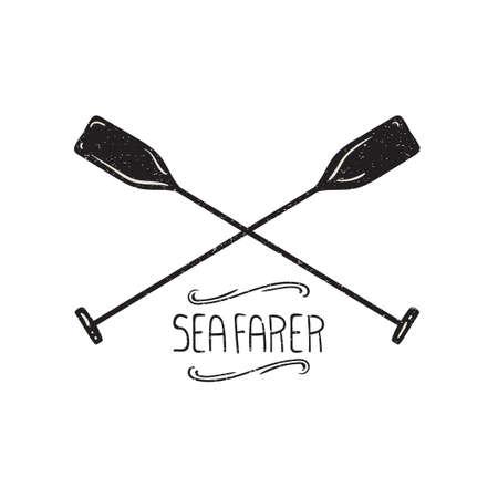 oar: Boat paddles