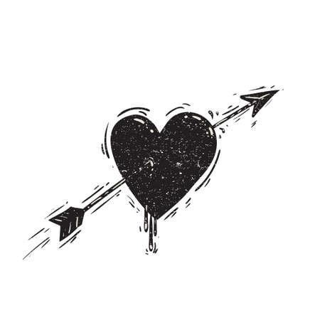 pierced: Pierced heart