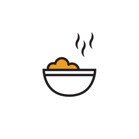 steamy: Hot bowl Illustration