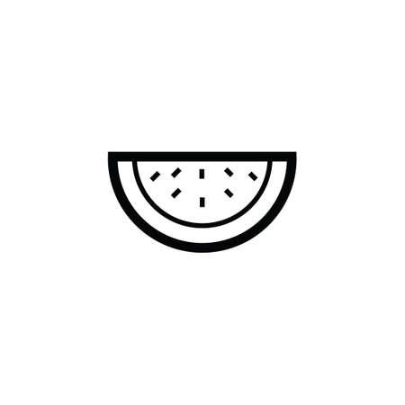 slice: Watermelon slice Illustration