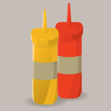 dispenser: Sauce dispenser bottles