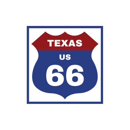 interstate: Two-digit interstate route shield, Texas