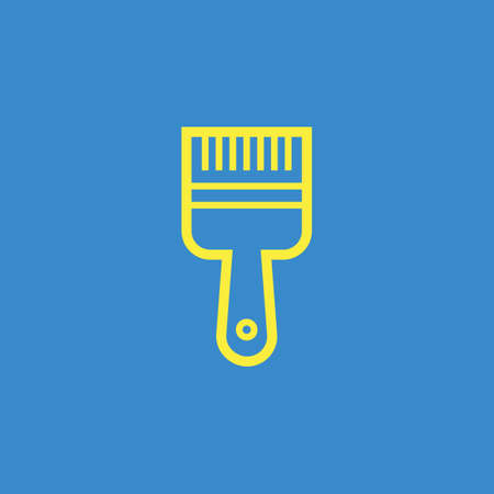 bristles: Paintbrush icon