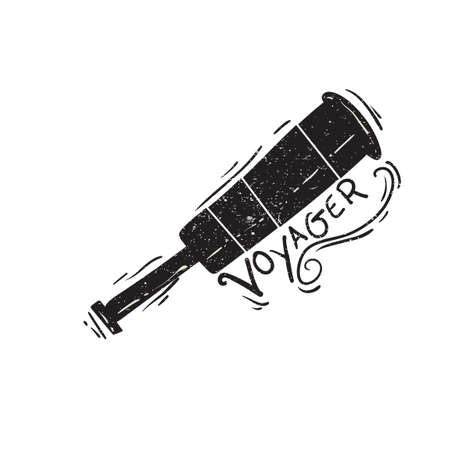 voyager: Vintage telescope