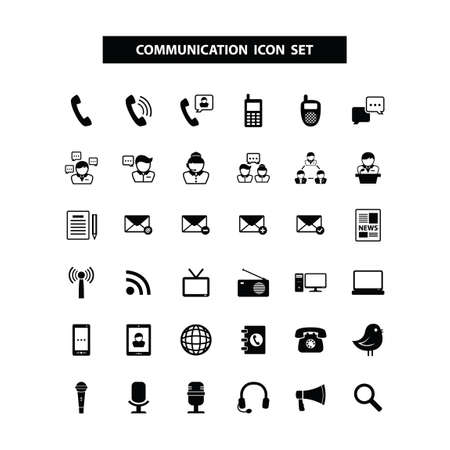 communication: Communication icons Illustration