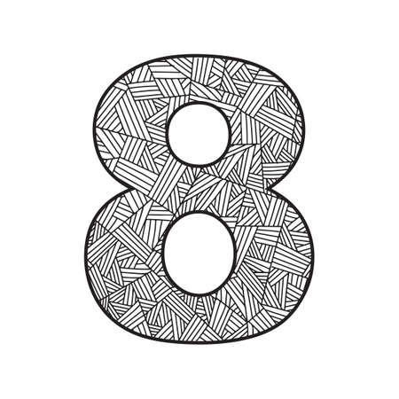 eight: Number eight