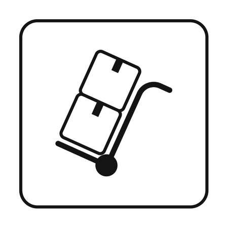 lightweight: Boxes on trolley