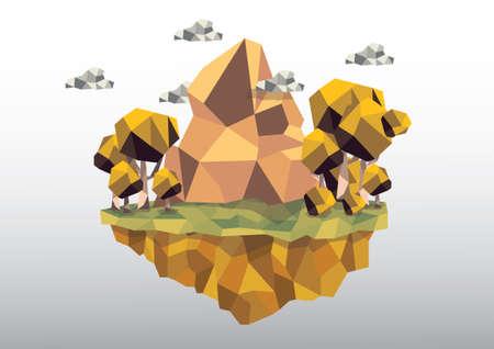 floating island: Floating island