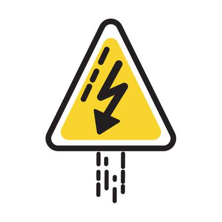 hazard: Electrical hazard sign