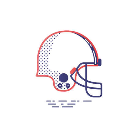 american football helmet: American football helmet