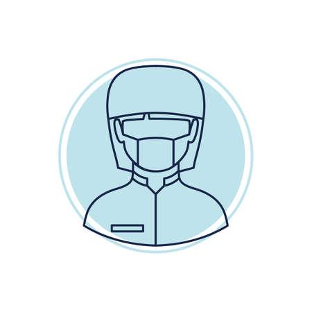 surgeon mask: Cirujano