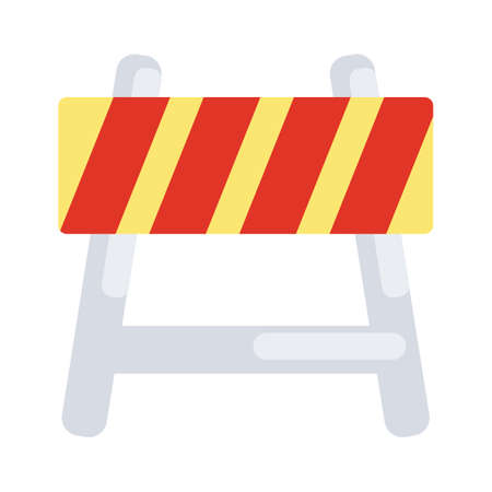 roadsigns: Barricade Illustration