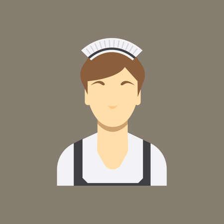 maid: Maid Illustration