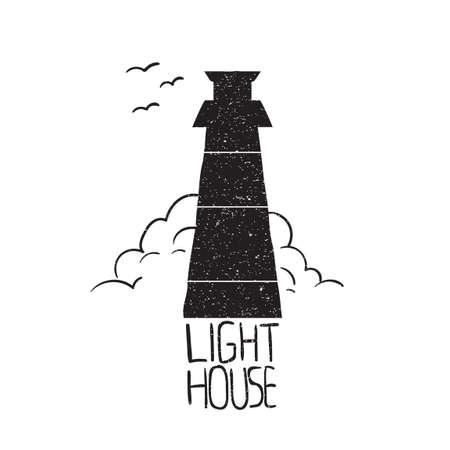 nautical structure: Light house Illustration