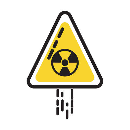 radioactive: Radioactive sign Illustration
