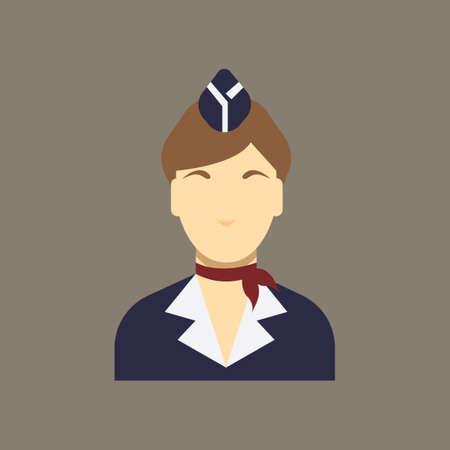 cabin attendant: Air hostess