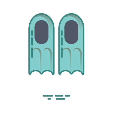 flippers: Aletas de buceo