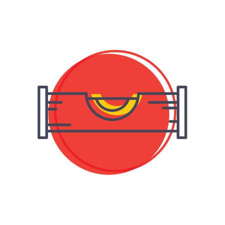 spirit level: Spirit level icon