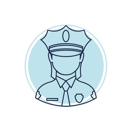 mujer policia: Mujer policía