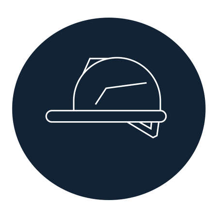 hard hat: Hard hat icon Illustration