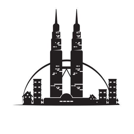 twin: Petronas twin towers