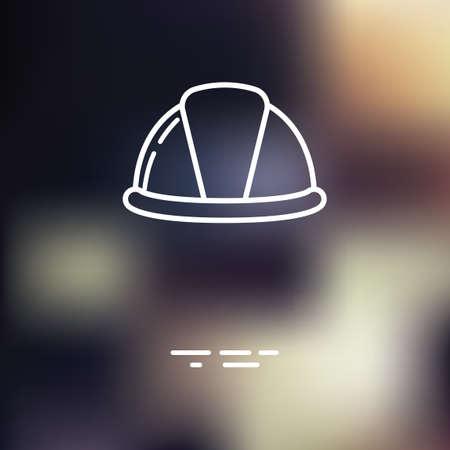 하드 모자 아이콘