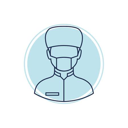 chirurgo: Chirurgo  Vettoriali