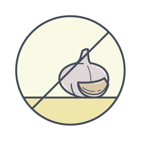 allergen: Garlic free icon