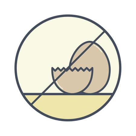 avoid: Egg free icon
