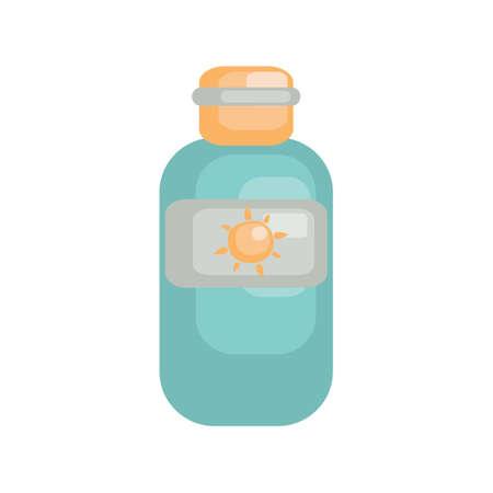 sun lotion: Protector solar