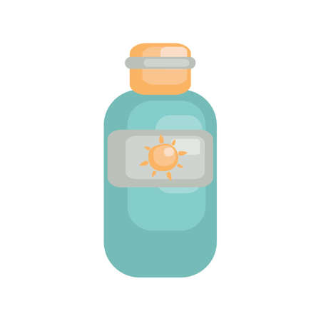 suntan cream: Sunblock lotion