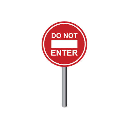 prohibitive: Do not enter sign