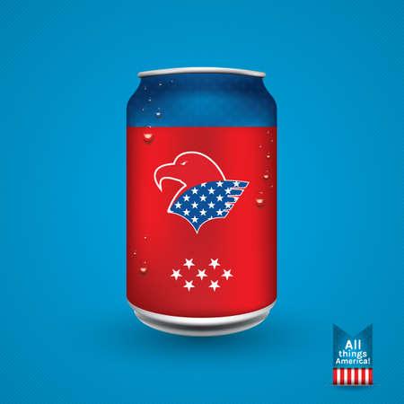lata de refresco: EE.UU. lata de refresco