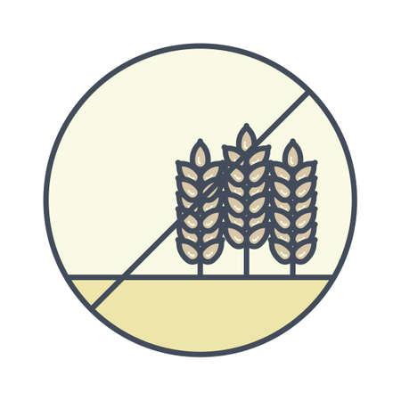 gluten free: Gluten free icon