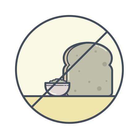 avoid: Bread free icon