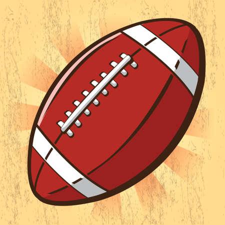 football ball: Rugby ball Illustration
