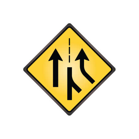 are added: Added lane sign Illustration