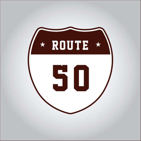 50: US route 50 Illustration