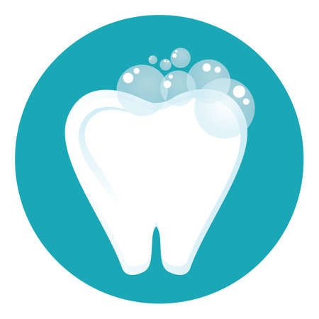wash: Tooth wash Illustration