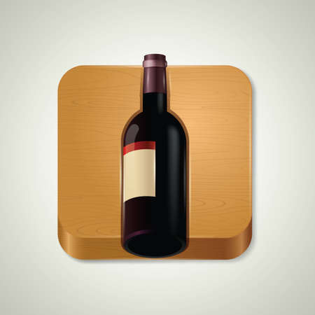 booze: Wine bottle