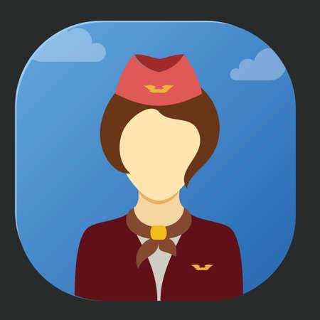 hotesse avion: H�tesse de l'air